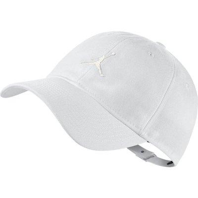 =CodE= NIKE AIR JORDAN FLOPPY H86 CAP 電繡棒球帽(全白)847143-100 老帽