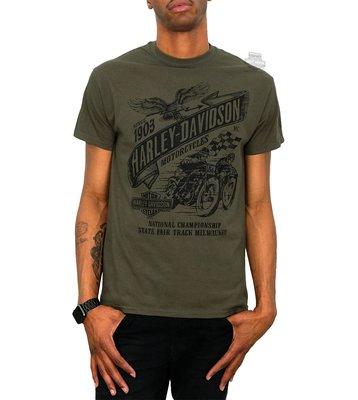 Harley-Davidson 哈雷機車 短袖T恤【S】【M】【L】Vintage Races Banner 全新 現貨