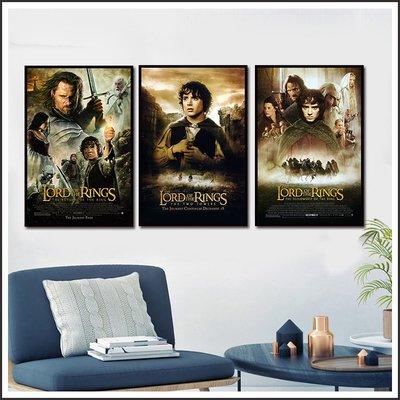 日本製畫布 電影海報 魔戒 The Lord of the Rings 哈比人 掛畫 嵌框畫 @Movie PoP#