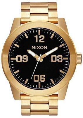 士林手錶專家-NIXON THE CORPORAL SS 曠野風潮腕錶 A346-510