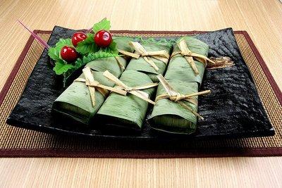 【蒸點心系列】竹葉芋香糕10入(全素)/約600g~竹葉香和芋香最完美的組合