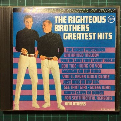 正義兄弟The Righteous Brothers-Greatest Hits
