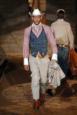 [品味人生]Dsquared 2  牛仔造型 領巾 牛仔好忙 D2  秀上款