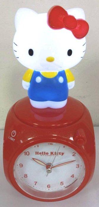 41+ 現貨不必等 正版授權  凱蒂貓 USB觸控式小夜燈 音樂 鬧鐘  JM-F599KT  my4165
