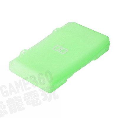 【出清商品】任天堂 NINTENDO NDSL DSL DS LITE 副廠 果凍套 矽膠套 保護套 綠色 透明綠 裸裝