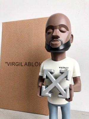 全新正品 2020歐美off-white 公仔創辦人Virgil abloh 日本 村上隆 公仔 玩具模型