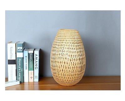 香河竹藝行~~~雙層竹編燈具燈罩~不含燈泡線材燈座