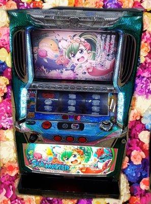 日本原裝機台SLOT 斯洛2014漁師~LALA小美人魚~啟程的前奏大型電玩 插電就可玩非柏青哥小鋼珠.打造自己遊戲空間