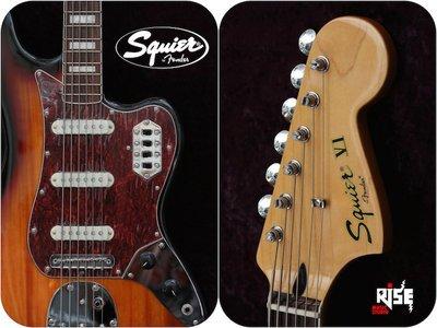 【又昇樂器 . 音響】Fender Squier VINTAGE MODIFIED BASS VI 六弦低音吉他