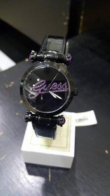 [永達利鐘錶] GUESS 黑殼 guess面板 皮帶女錶 GWW0057L6 32mm 總公司12個月保固