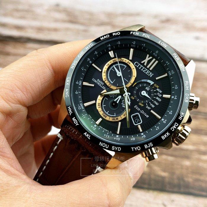 CITIZEN CB5839-15E 星辰 ECO-Drive 五局電波 限量腕錶 原廠公司貨 吳慷仁 藍正龍 廣告款