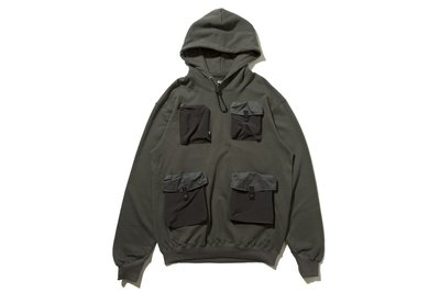 "[ LAB Taipei ] bal ""UTILITY HOODED SWEAT SHIRT"""