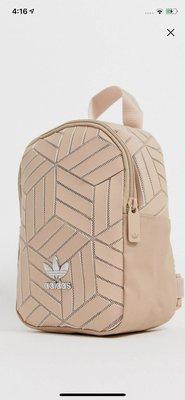 ==全新現貨 == ADIDAS 愛迪達 三宅一生3D小背包 ORIGINALS MINI 粉色