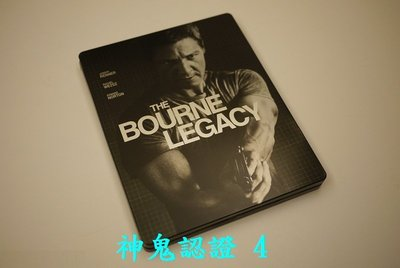 【BD藍光】神鬼認證 4:限量鐵盒版The Bourne Legacy(台灣繁中字幕)