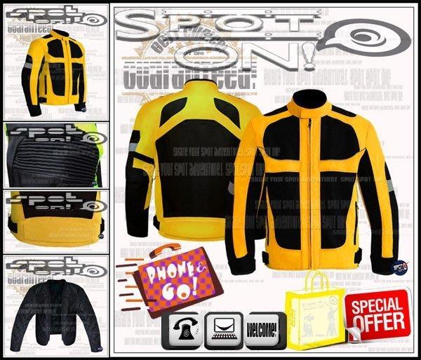 Spot ON -保證最低價$ PROBIKER JK21 尼龍網狀反光外套ˇ可拆式護具防寒內裏! G-MAX 頂客 舞