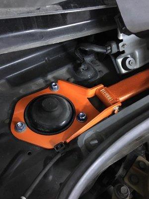 【優質輪胎】LUXGEN M7 SUMMIT引擎室拉桿(S3 U5 U6 U7 前下井字拉桿 後下扭力強化桿)三重區
