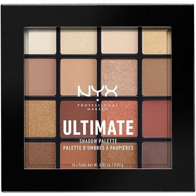 現貨《Topia代購》美國 NYX Warm Neutrals 16色眼影盤 NXY 眼影盤