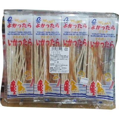 ☆°╮《艾咪小鋪》☆°╮ 日本 一榮魷魚絲條 7公克*30小包