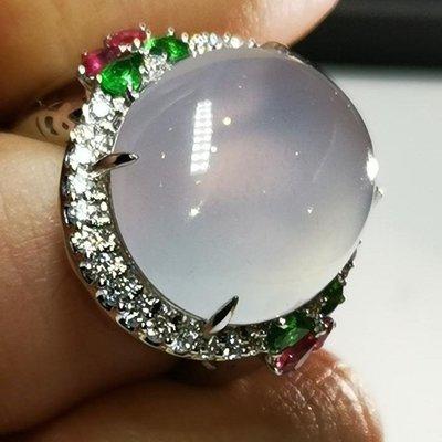 💖玉殿珠寶💖天然冰種翡翠戒子