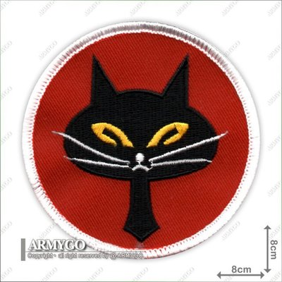 【ARMYGO】空軍第35飛行中隊(黑貓中隊) (8公分) (B版)