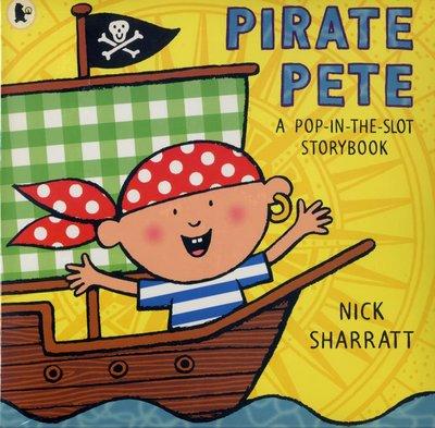 *小貝比的家*PIRATE PETE /POP-IN-SLOT STORYBOOK/平裝/3-4歲小班/幽默 Humor
