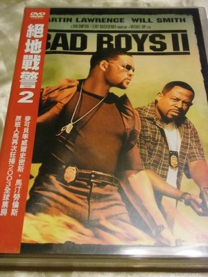 Bad Boys II 絕地戰警2 威爾史密斯 馬汀勞倫斯 麥可貝(變形金剛)導演 2DVD