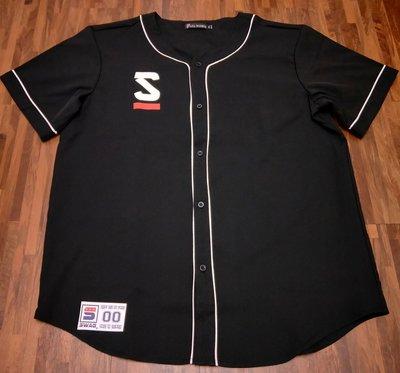 歐美 SWAG 棒球衫 棒球衣 KOBE 24 紀念 嘻哈 饒舌 HIP HOP MJF 黑白2色 大尺碼有福 S~4XL