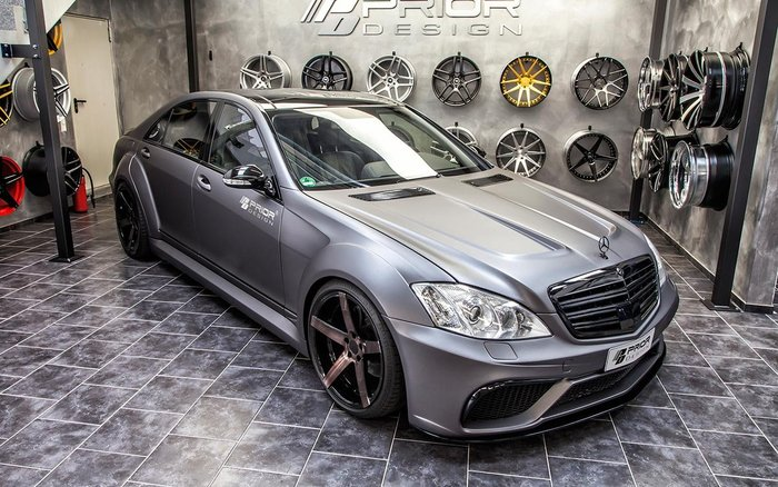 【樂駒】PRIOR DESIGN PD V3 Widebody Mercedes BENZ S-CLASS W221
