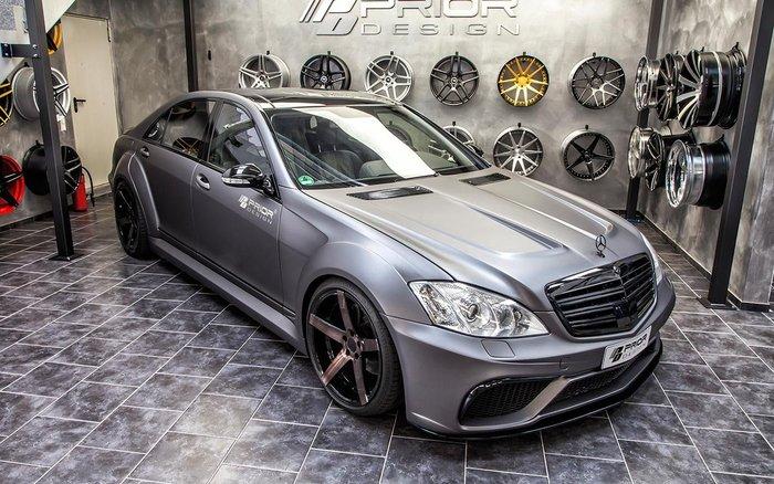 【樂駒】PRIOR DESIGN PD V3 Widebody Mercedes BENZ S-CLASS W221