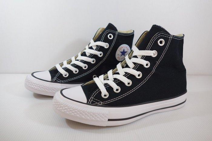 =小綿羊= CONVERSE ALL STAR 黑白 帆布 M9160C 匡威 高統 帆布鞋 經典款