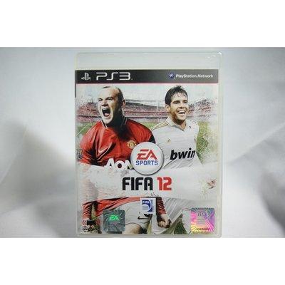 [耀西]二手 亞版 SONY PS3 國際足盟大賽12 FIFA 12 含稅附發票