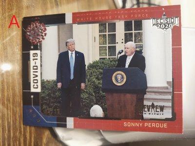 (記得小舖)Decision 2020 preview Donald Trump 唐納川普 普卡系列 台灣現貨 如圖稀少
