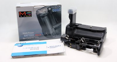 【台中青蘋果】MEIKE MK-60D 電池手把 FOR CANON 60D # 04667