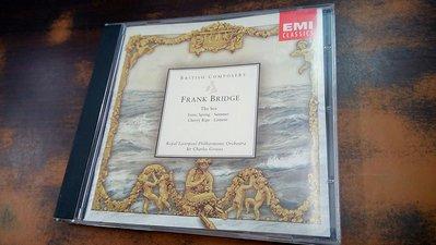 年輪書房 Frank Bridge The Sea Sir Charles Groves EMI CDM5668552