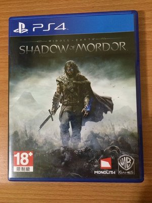 PS4 中土世界 魔多之影 英文版 含特典 二手 可取貨付款