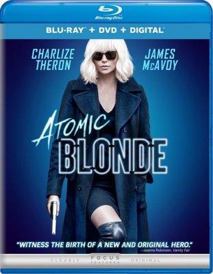 BD 全新美版【極凍之城】【Atomic Blonde 】Blu-ray 藍光 莎莉賽隆