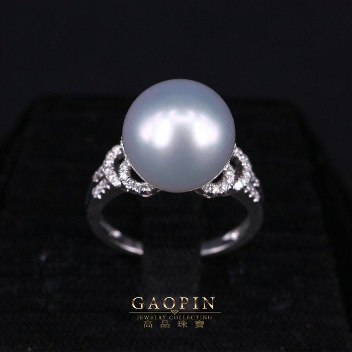 【高品珠寶】天然南洋珠戒  女戒 18K (已售出可訂製)  #2751