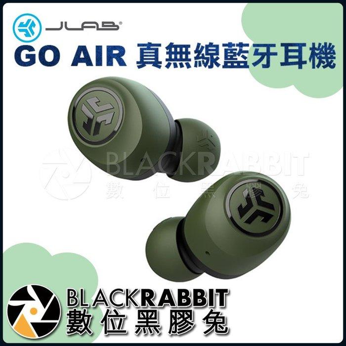 數位黑膠兔【 JLab GO AIR 真無線藍牙耳機 墨綠色 】 高音質 音樂 降噪 高續航 全觸控 支援單耳