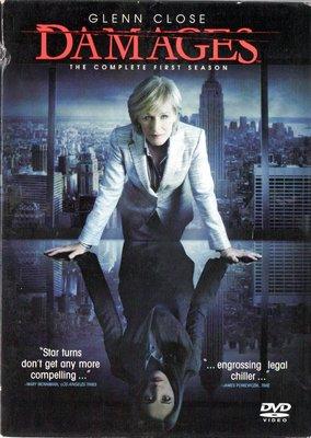 金權遊戲 Damages 第一季 葛倫克羅絲 DVD 3區 有中文字幕 再生工場3 03