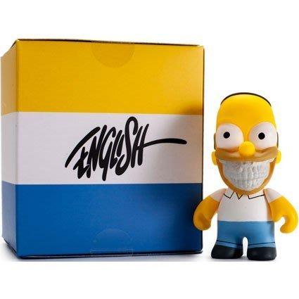 (I LOVE樂多) Kidrobot Ron English 辛普森 3吋The Simpsons 荷馬