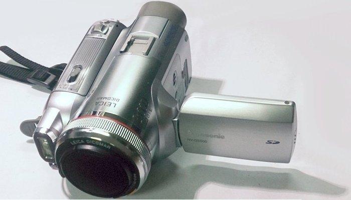 ☆手機寶藏點☆ Panasonic 國際牌 NV-GS500 3CCD DV 攝影機 數位 功能正常 咖71