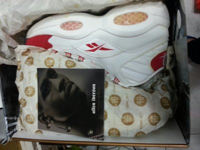 全新  REEBOK QUESTION MID IVERSON  10周年特別版    白紅色  SIZE 9.5,10