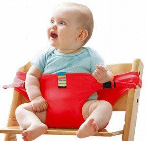 。小森親子好物。日本Carry free chair belt 攜帶型安全椅帶 紅色 (現貨)【KF15120079】
