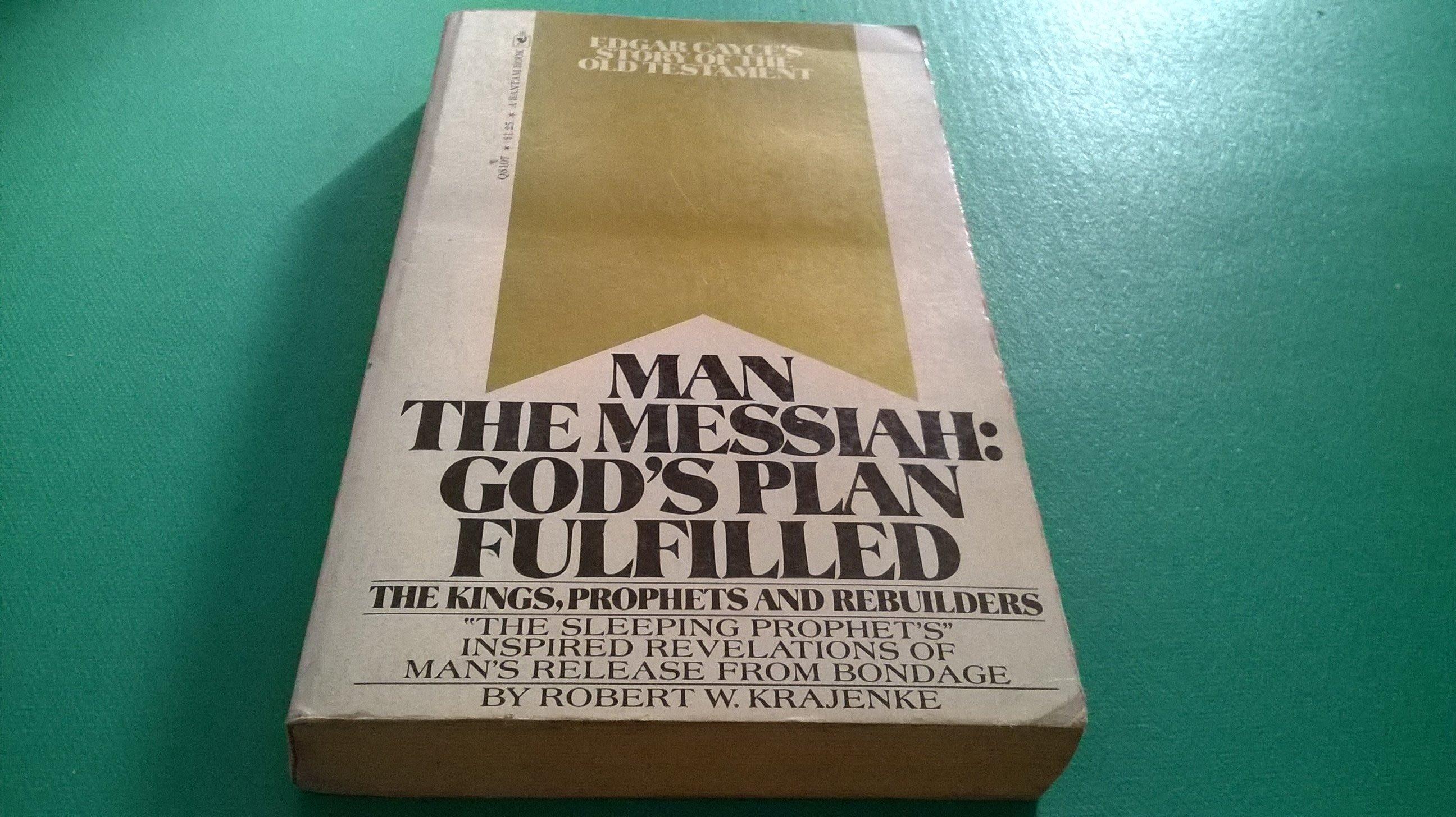 大熊舊書坊-英文原文書 MAN THE MESSIAH:GODS PLAN FULFILLED-5*42