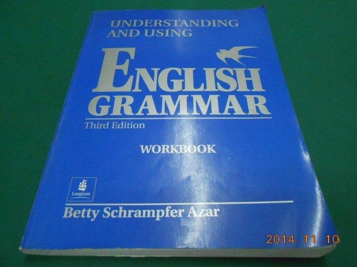 《ENGLISH GRAMMAR》七成新 Third Edition ISBN:0139586873【CS超聖文化2讚】