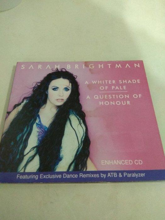 (西) Sarah Brightman - A Whiter Shade Of Pale (歐版)