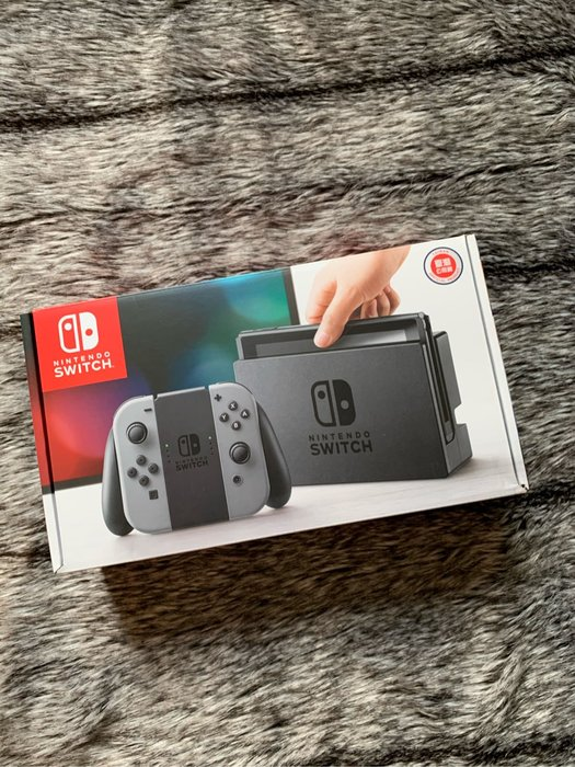 ❌已售出❌Nintendo Switch灰色主機 送遊戲片