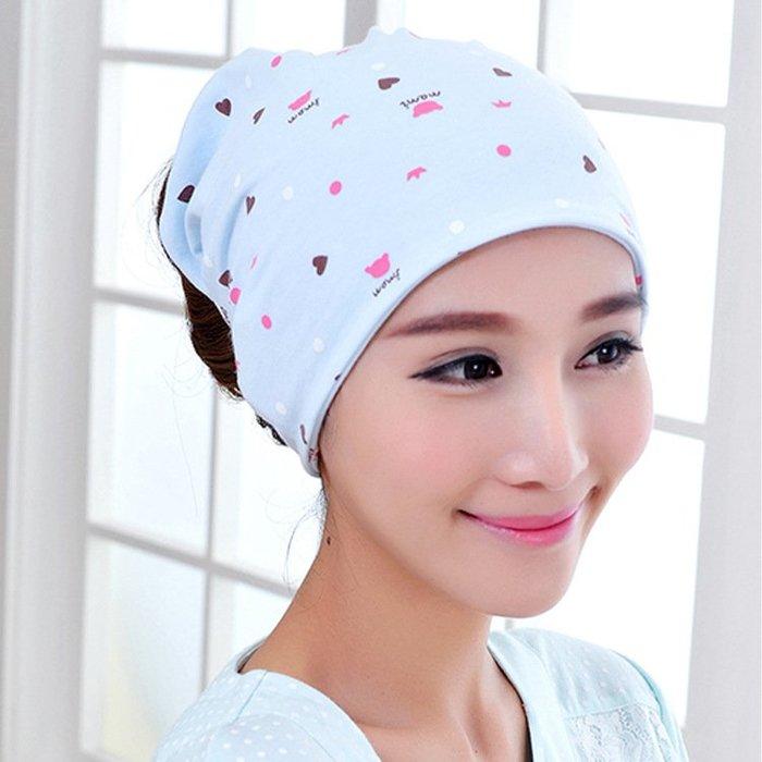 春夏季坐月子帽夏天產婦產後用品春時尚頭巾春季薄款孕婦帽子CY