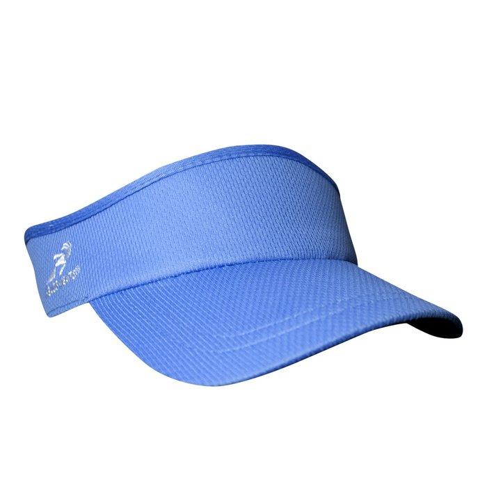 騎跑泳者 - HEADSWEATS 汗淂 (全球運動帽領導品牌) Velocity Visor 中空遮陽帽  淺藍色