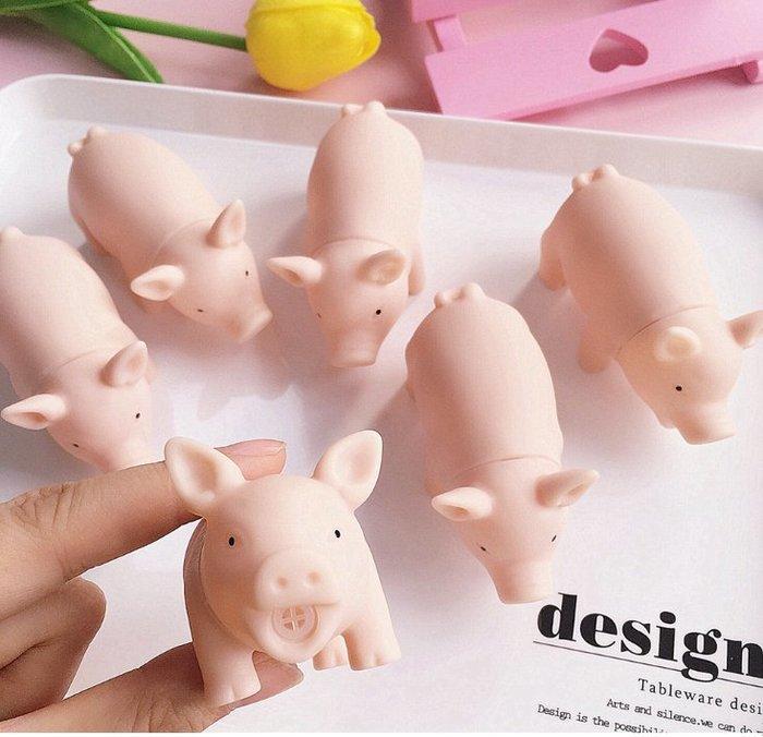 創意卡通動物學生發聲小豬可愛解壓整蠱發泄減壓玩具